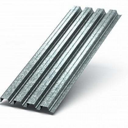 Профилированный лист H-75х750 Цинк