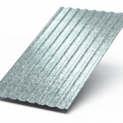 Профилированный лист МП-20х1100 Цинк
